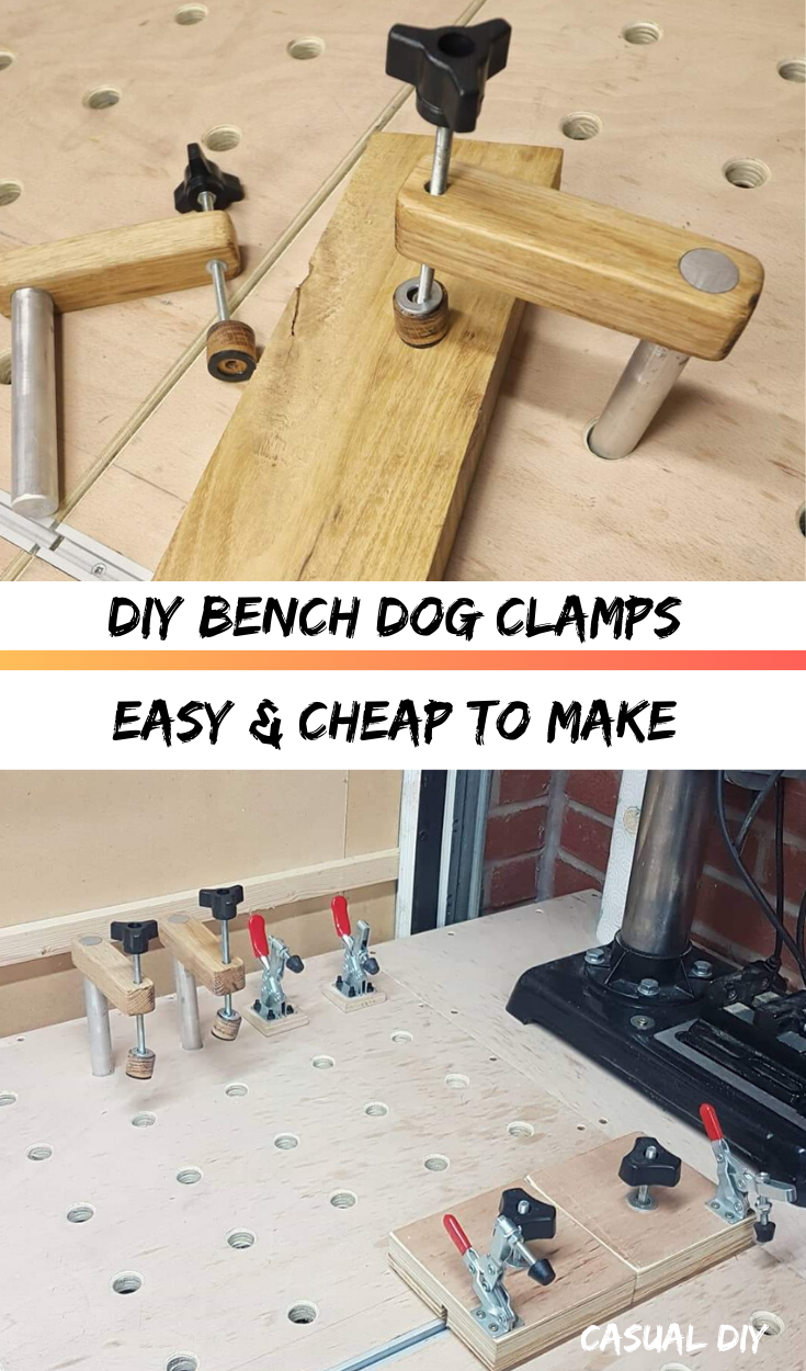 How to make Bench Dog Clamps?