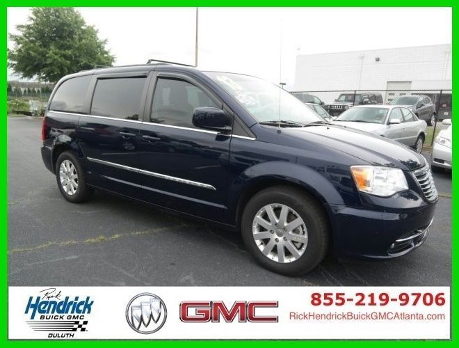 Car Brand Auctioned Chrysler Town Country Touring 2013 Touring
