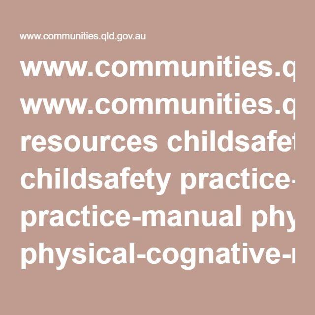 www communities qld gov au resources childsafety practice