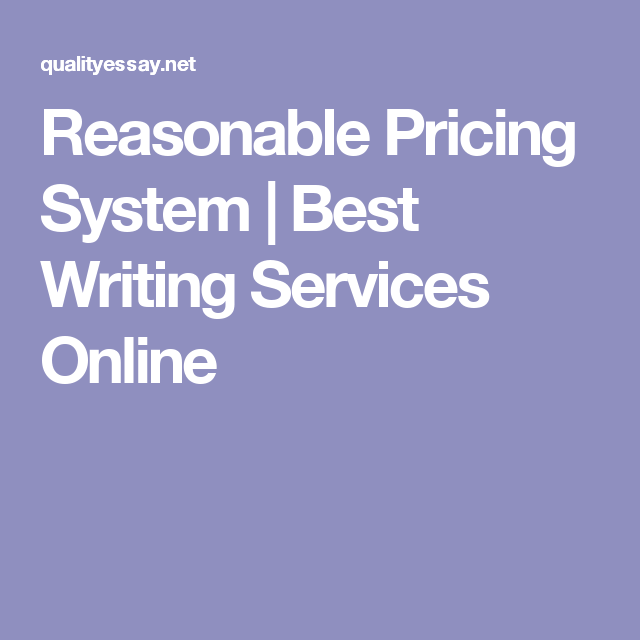 Best Writing Services Online