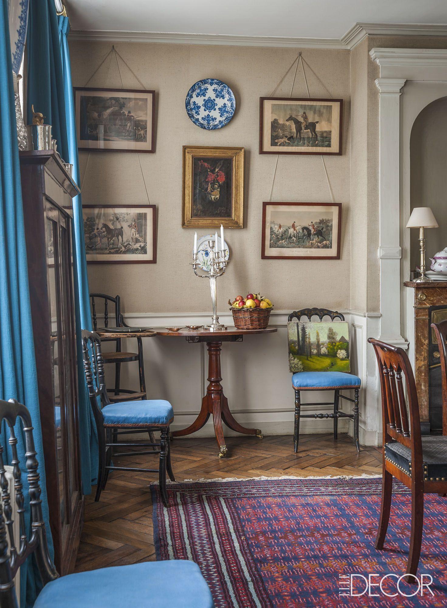 50 Perfect Curtain Ideas For Mastering Living Room Elegance English Decor Elle Decor Home Decor