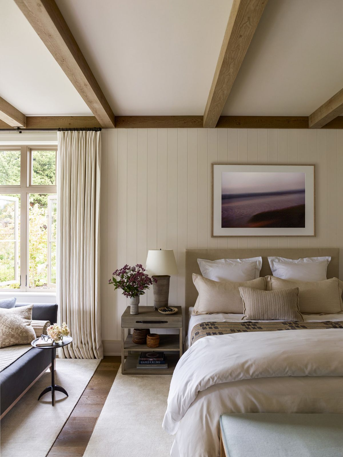 House Tour Tradition Meets Pacific Northwest In This Island Home Modern Master Bedroom Decor Modern Master Bedroom Master Bedrooms Decor