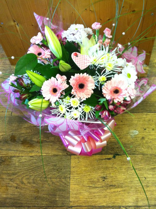 Latest picture of flowers delivered by our member florist
