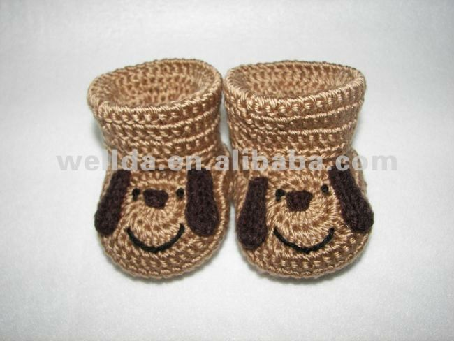 29249bedb Zapatitos crochet animalitos - Imagui