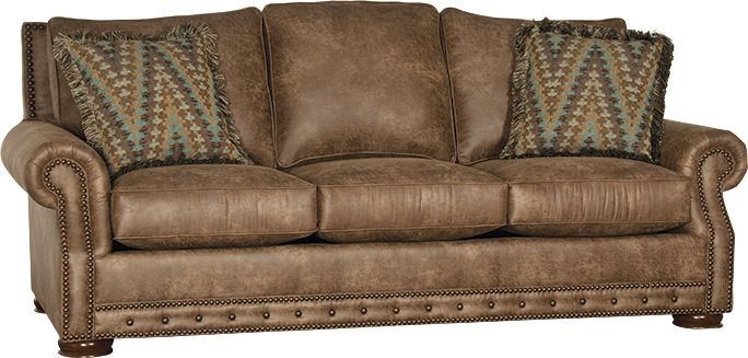 Attirant Picked This Out From Ivan Smith  Beautiful In Person!Mayo Furniture 2900F  Fabric Sofa   Palance Silt