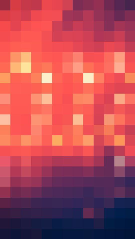 iphone 5 pixel art wallpaper