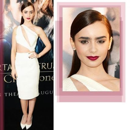 Look of the Day | Lily Collins #CelebrityStyle #BestDressed