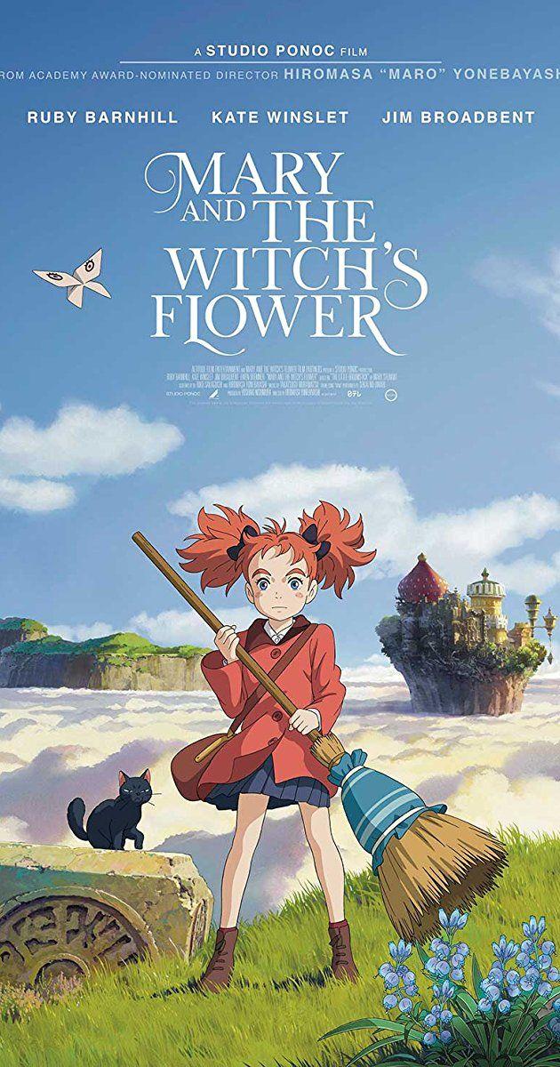 Mary and the Witch's Flower (2017) IMDb Studio ghibli