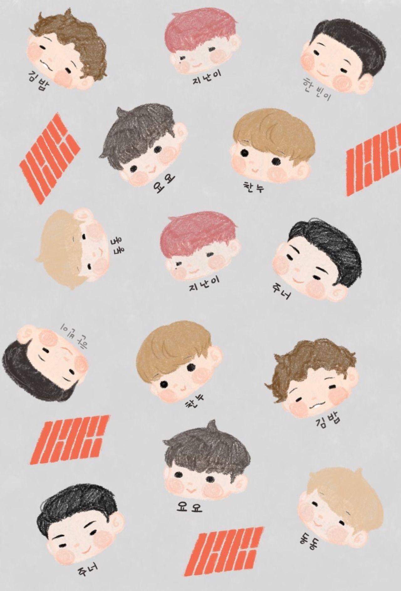 Cute iKON Wallpaper Cr wacoog99 ภาพ