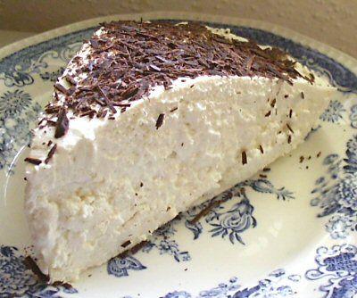 Low Carb No Bake Coffee Cream Cheesecake