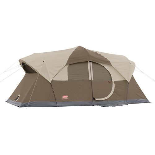 Coleman Weathermaster 10-Person Cabin Tent, 17' x 9