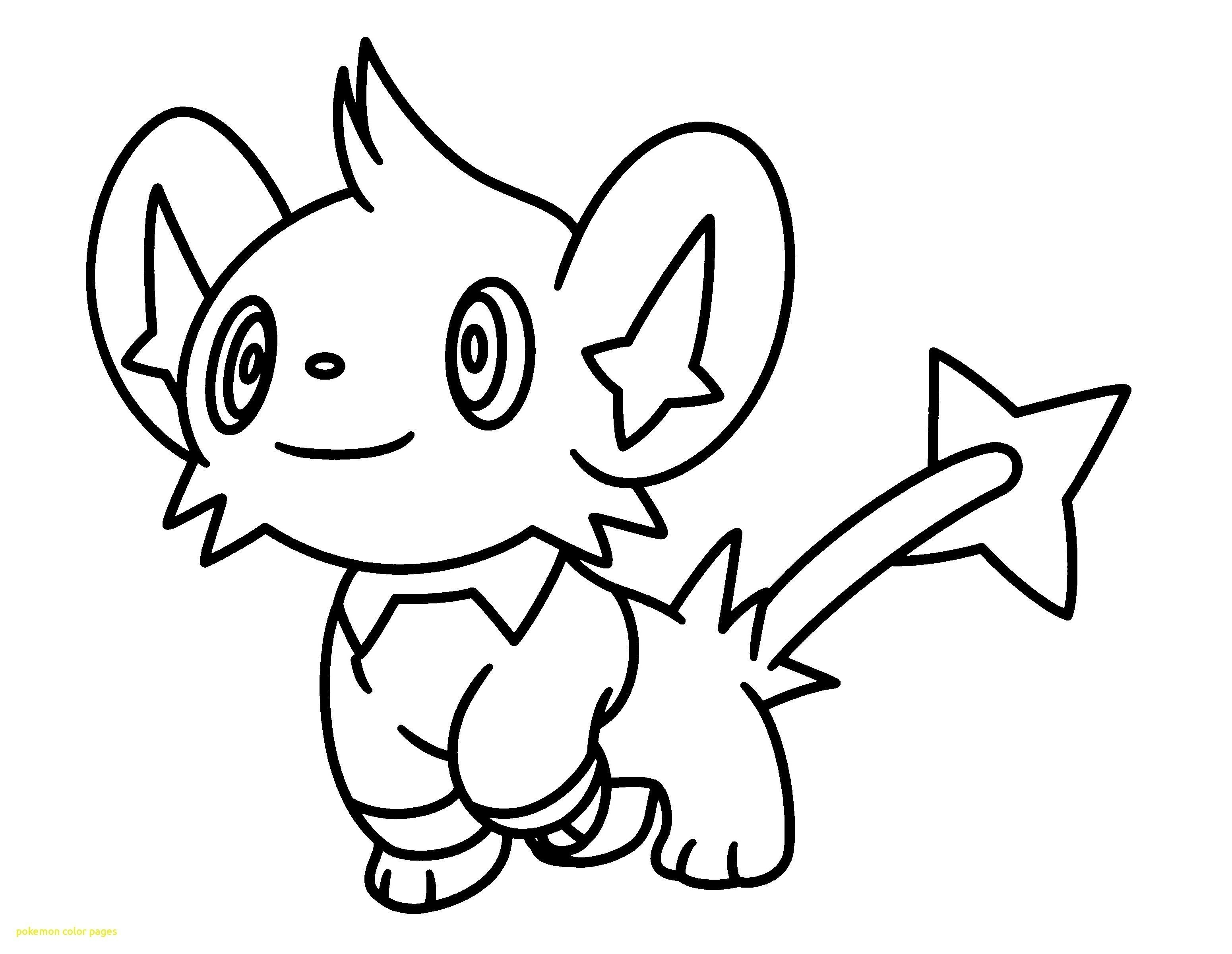 Pokemon Logo Coloring Pages