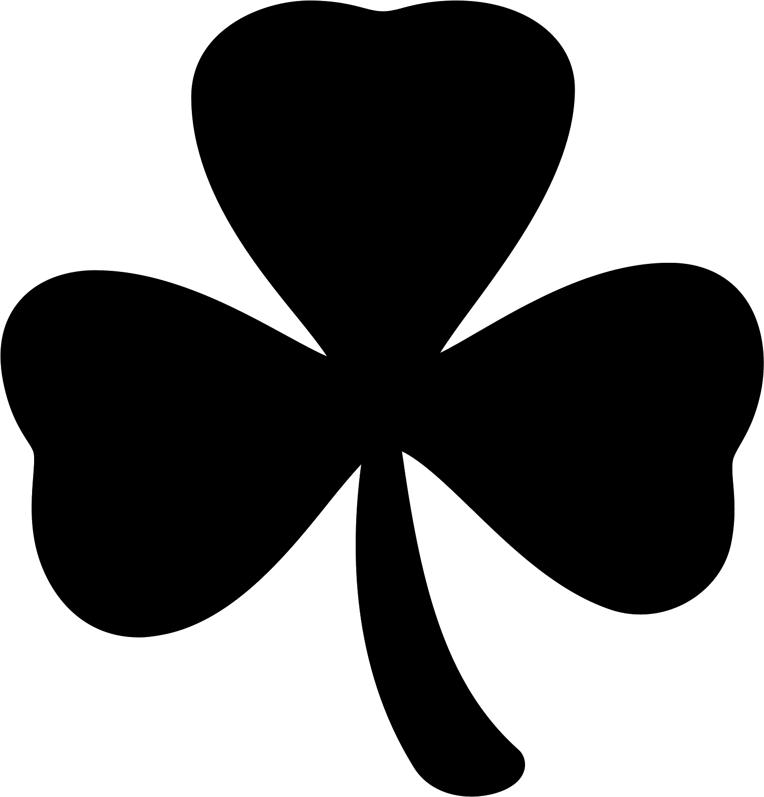 Four Leaf Clover Clipart For Free Download Four Leaf Clover