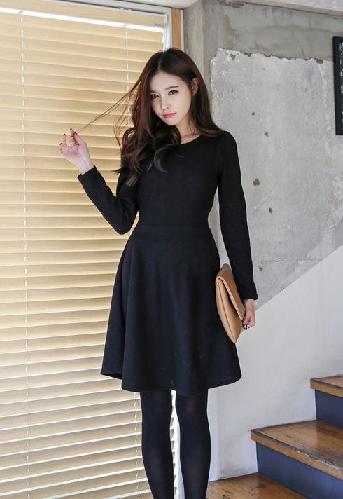 Black work/office outfit