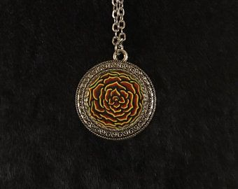 Yellow rose pendant necklace on 24 inch steel chain amazing etsy yellow rose pendant necklace on 24 inch steel chain amazing etsy etc pinterest steel chain steel and etsy mozeypictures Gallery