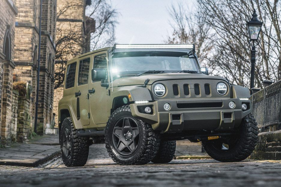 Kahn Jeep Wrangler Black Hawk is Ruggedly Awesome Jeep