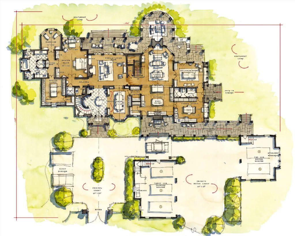 Stephen Fuller Designs Shingle Cottage Alabama Drawings Floor Plan Drawing Home Design Floor Plans Floor Plan Design