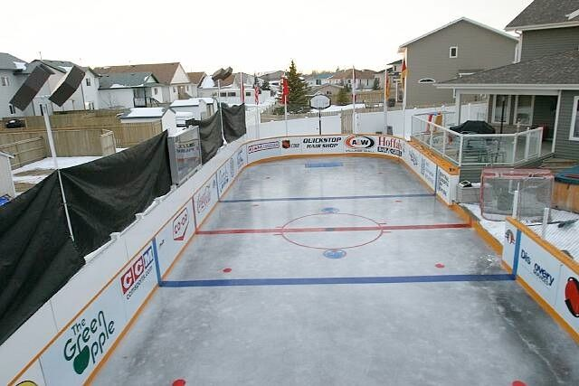 Ice Hockey The Coolest Backyards Backyard Rink Backyard Ice Rink Backyard Hockey Rink