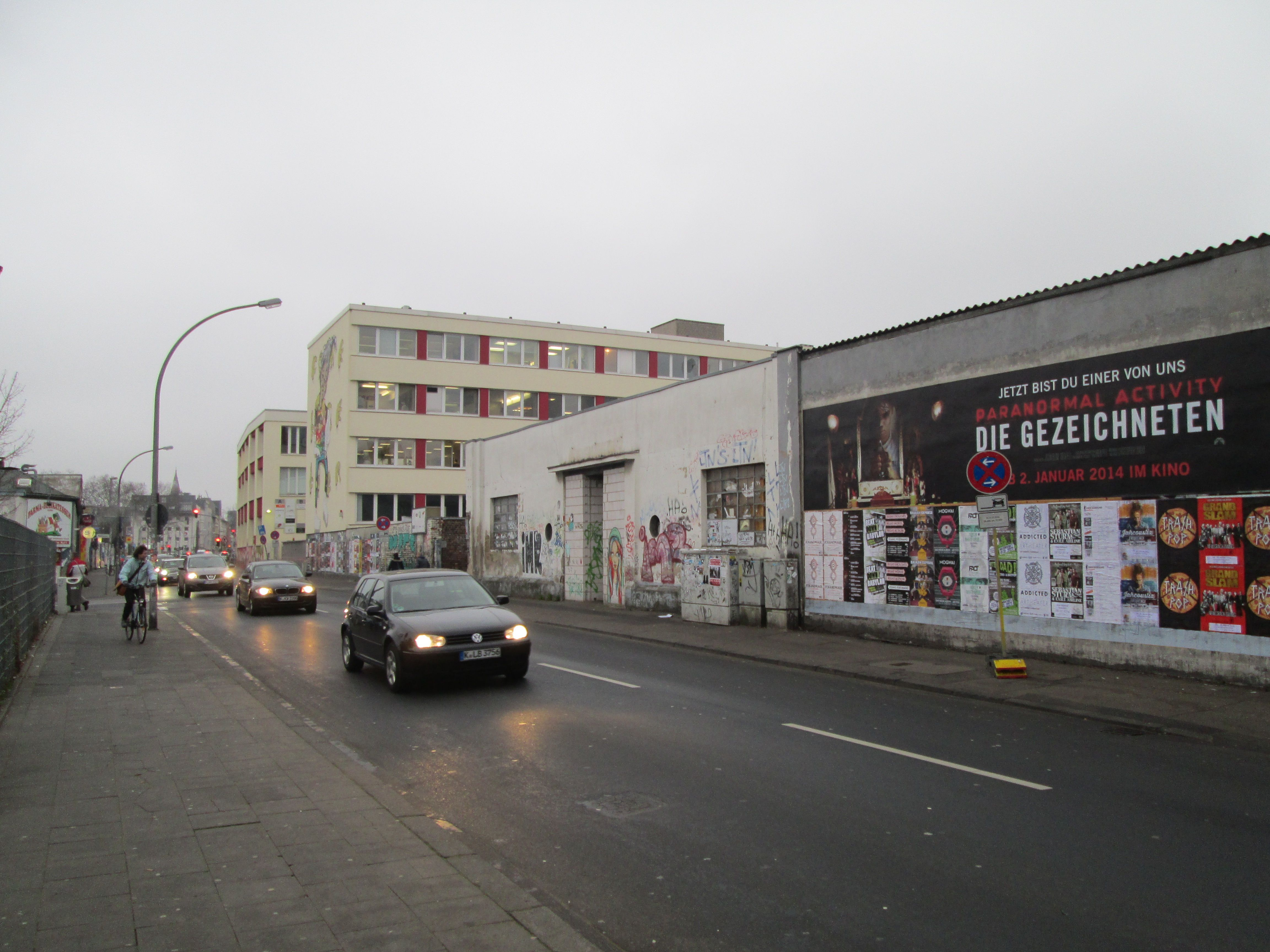 ...irgendwo in Köln... Jan 2014 Leben in deutschland