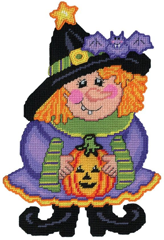 This spook-tacular witch will be a great addition to your halloween decor.