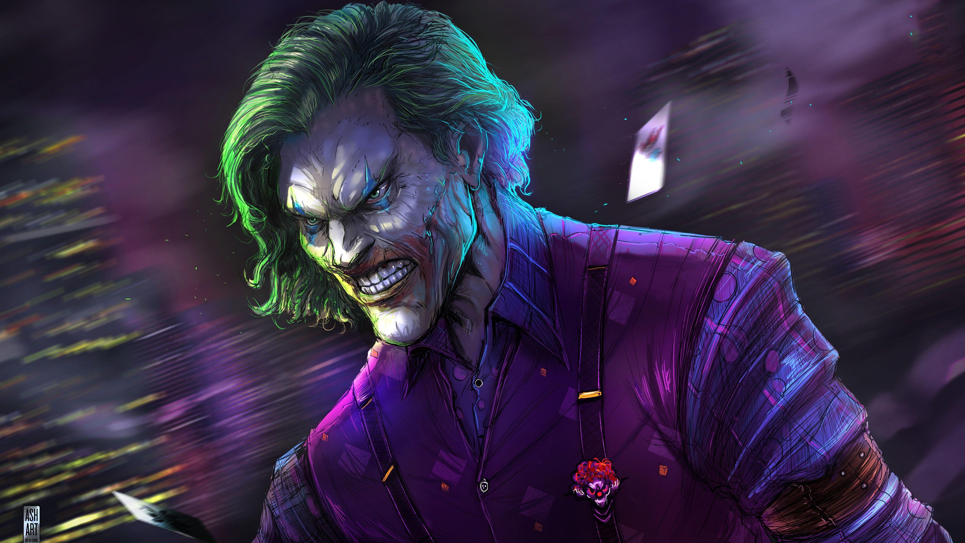 Joker Artwork 4k 2019 Superheroes Wallpapers Joker Wallpapers Hd Wallpapers Digital Art Wallpapers Beha Joker Wallpapers Joker Hd Wallpaper Joker Images Hd