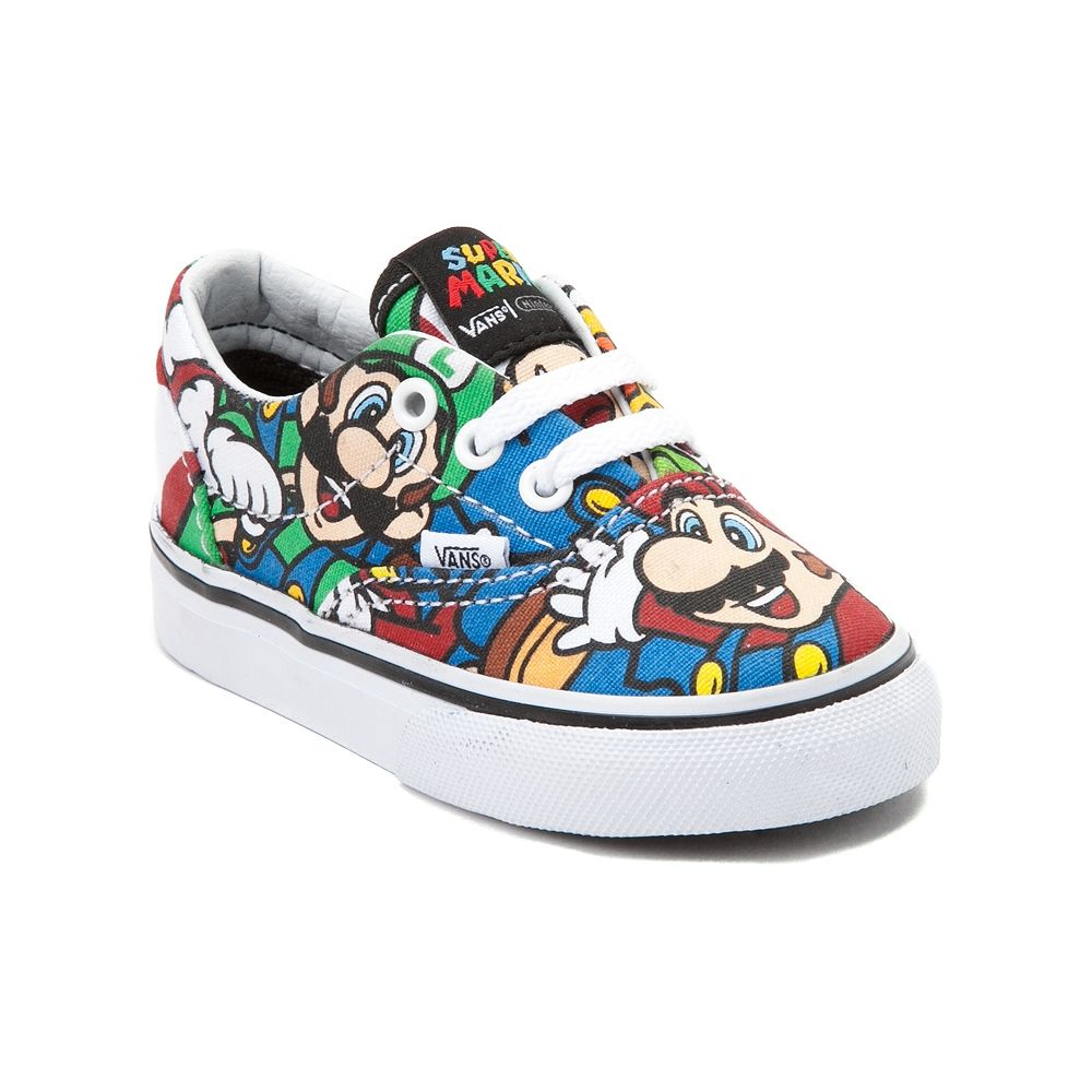 Toddler Nintendo and Vans Era Mario Skate Shoe