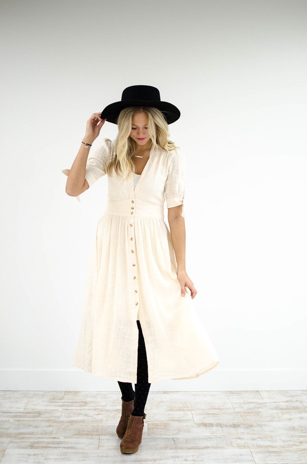 de767b8ea849 Free People Love of My Life Midi Dress in Ivory - ROOLEE (size up to wear  with a bump!)