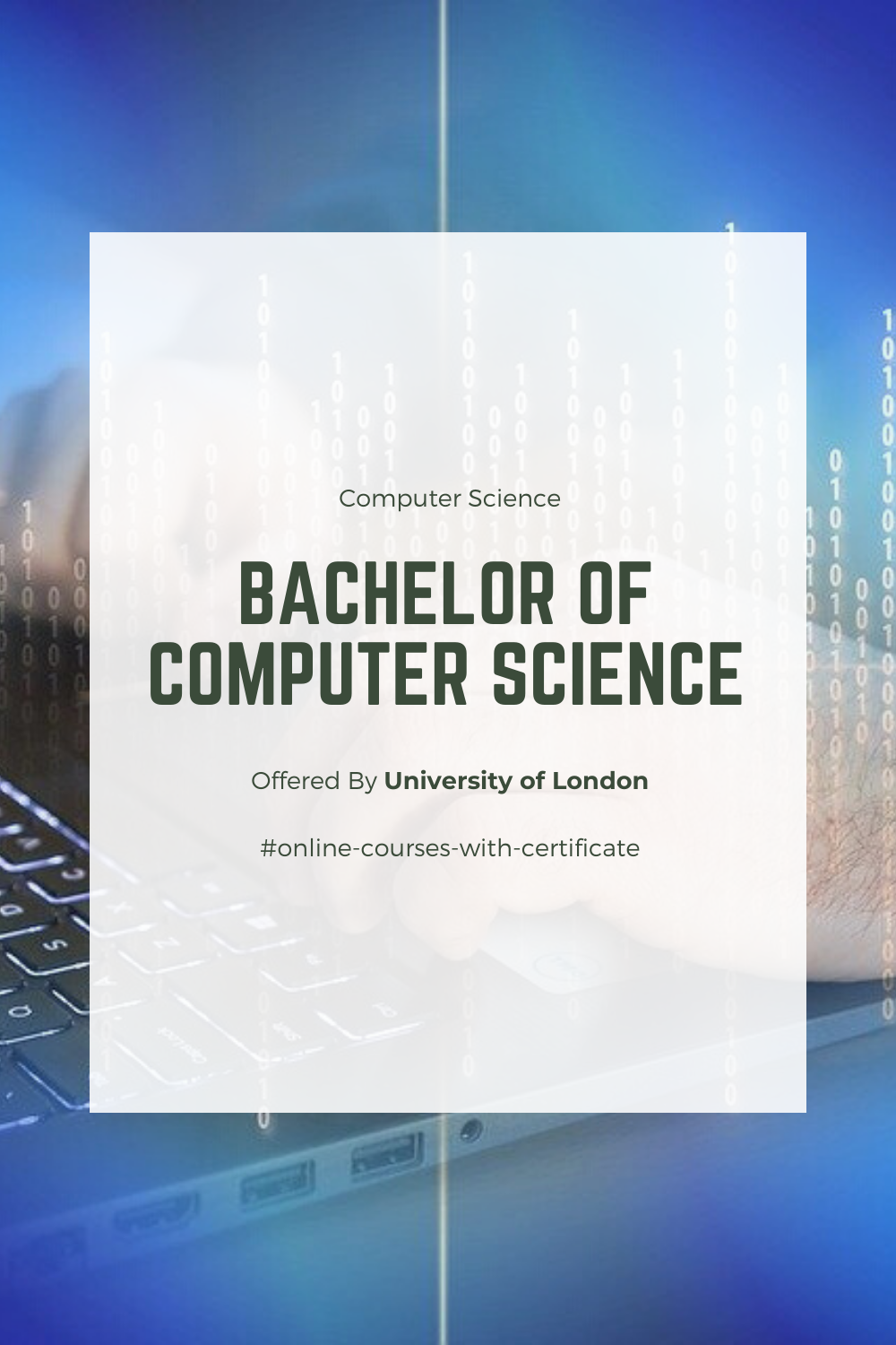 Bachelor Of Computer Science Computer Science Science Computer Science Degree
