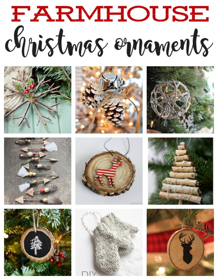 Diy Rustic Christmas Ornaments The Girl Creative Rustic Christmas Ornaments Christmas Ornaments Diy Christmas Ornaments