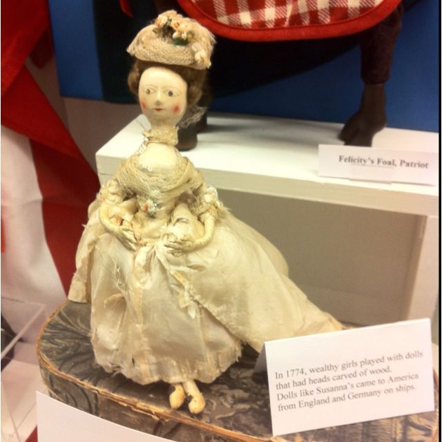 Wooden doll, 1774.