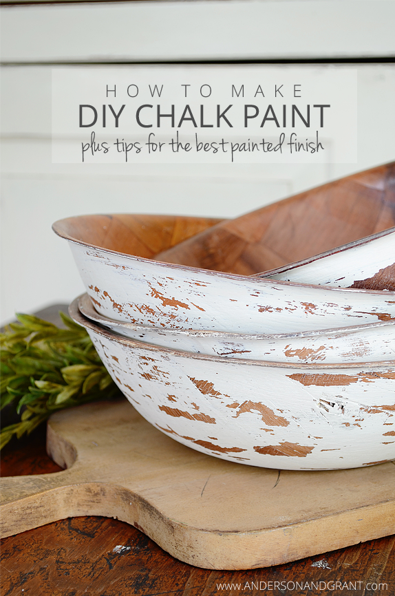 How To Make Diy Chalk Paint Plus Tips For The Best Painted