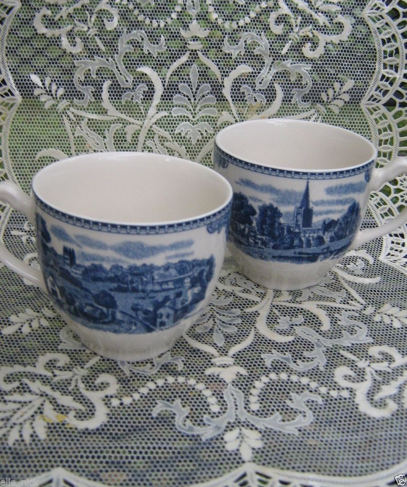 China u0026 Dinnerware | eBay. Johnson Brothers ChinaWillow ... & REDUCED PRICE! (2) JOHNSON BROTHERS CHINA BLUE WILLOW PATTERN CUPS ...
