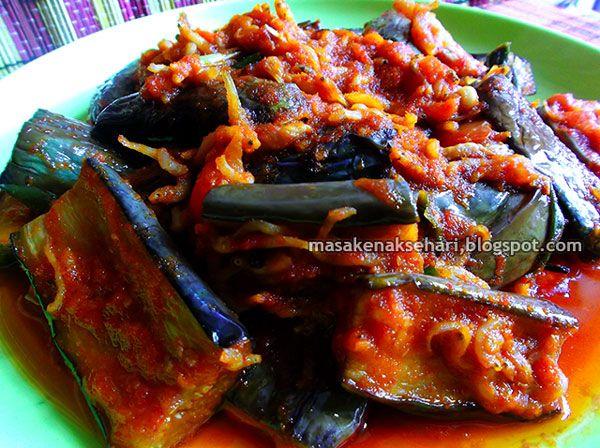 Resep Terong Balado Teri Sambal Pedas Khas Padang Aneka Resep Masakan Sederhana Sehari Hari Resep Masakan Resep Masakan Indonesia Terong