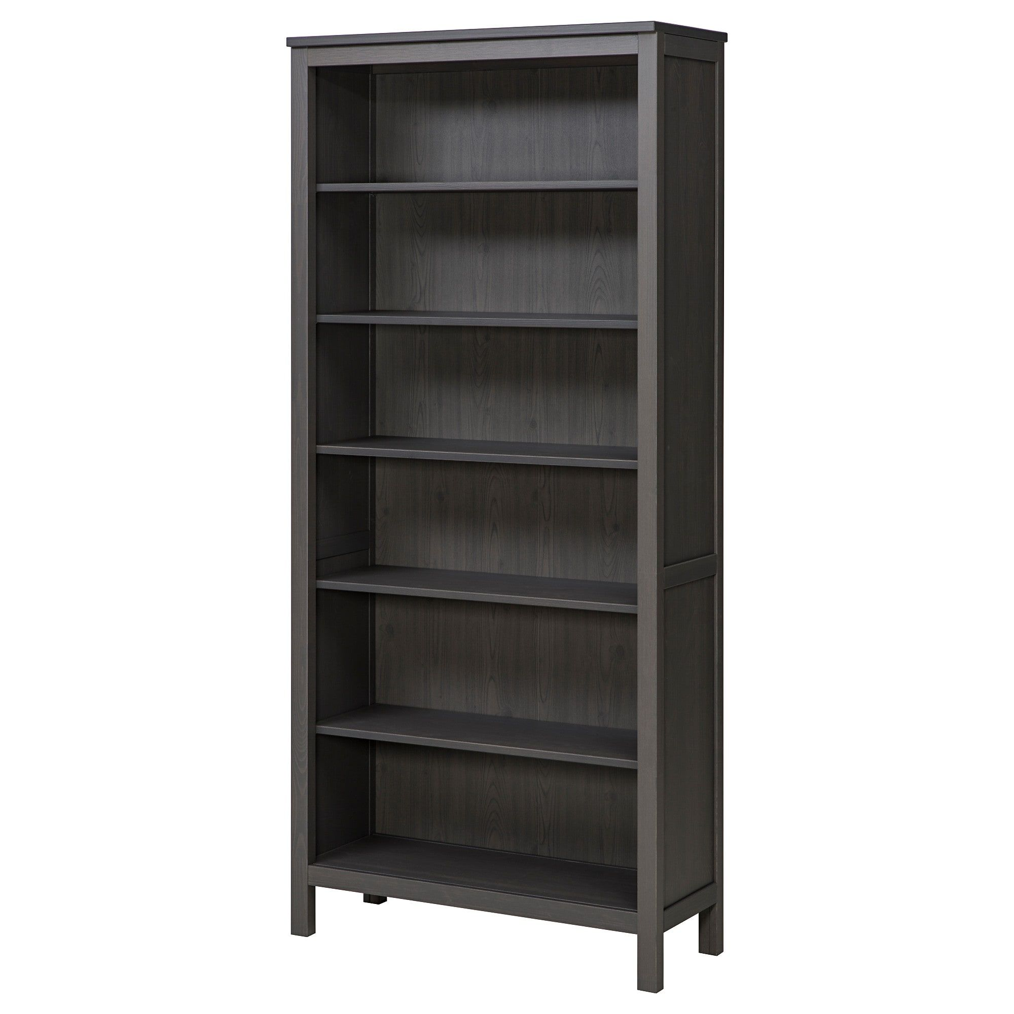 Hemnes Bookcase  Dark Gray Stained  Ikea  $14900