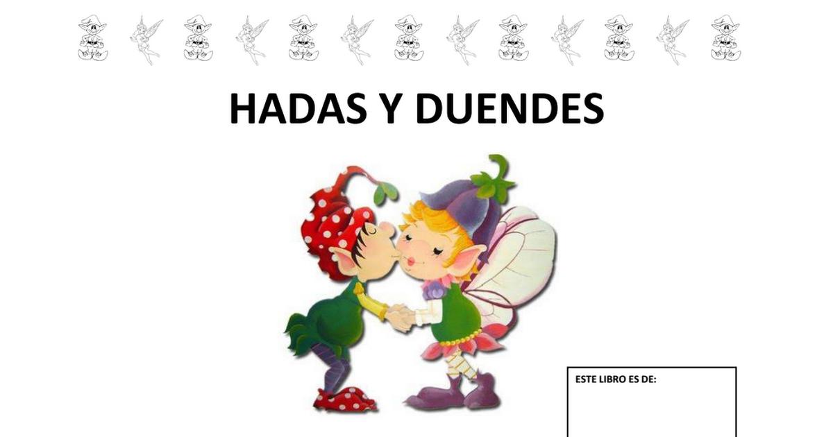 Proyecto Hadas Y Duendes Pdf Hadas Duendes Hadas De Fantasía
