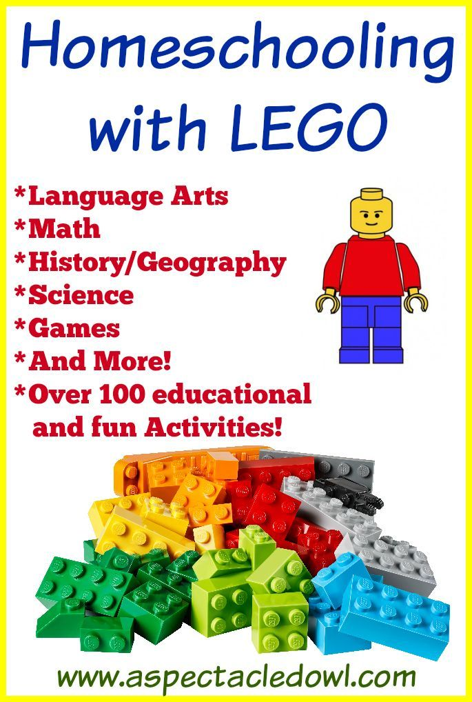Photo of Homeschooling with LEGO – 100+ Resources & Activities – A Spectacled Owl