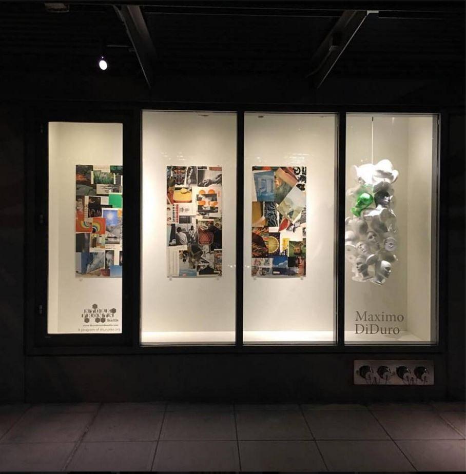 Result Art Display Window Storefront