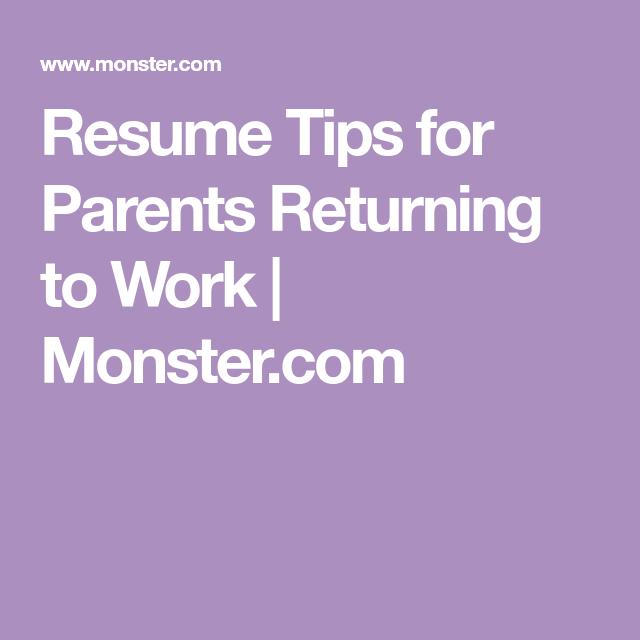 resume tips for full