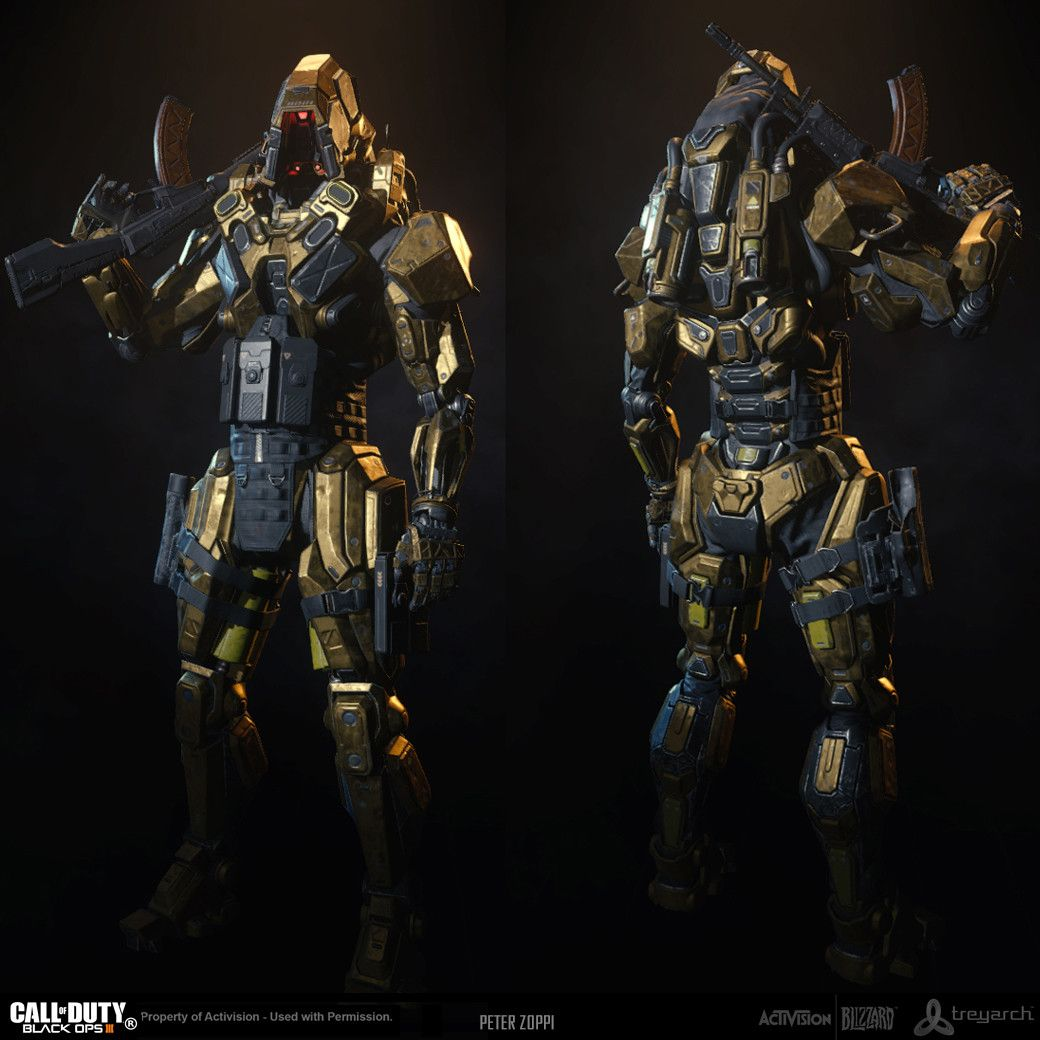 Call of Duty: Black Ops 3 - REAPER, Peter Zoppi