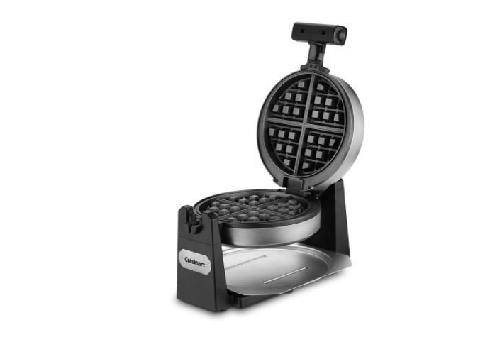 Waffle Maker Removable Plates Flip Belgian Cuisinart Waring Pro ...