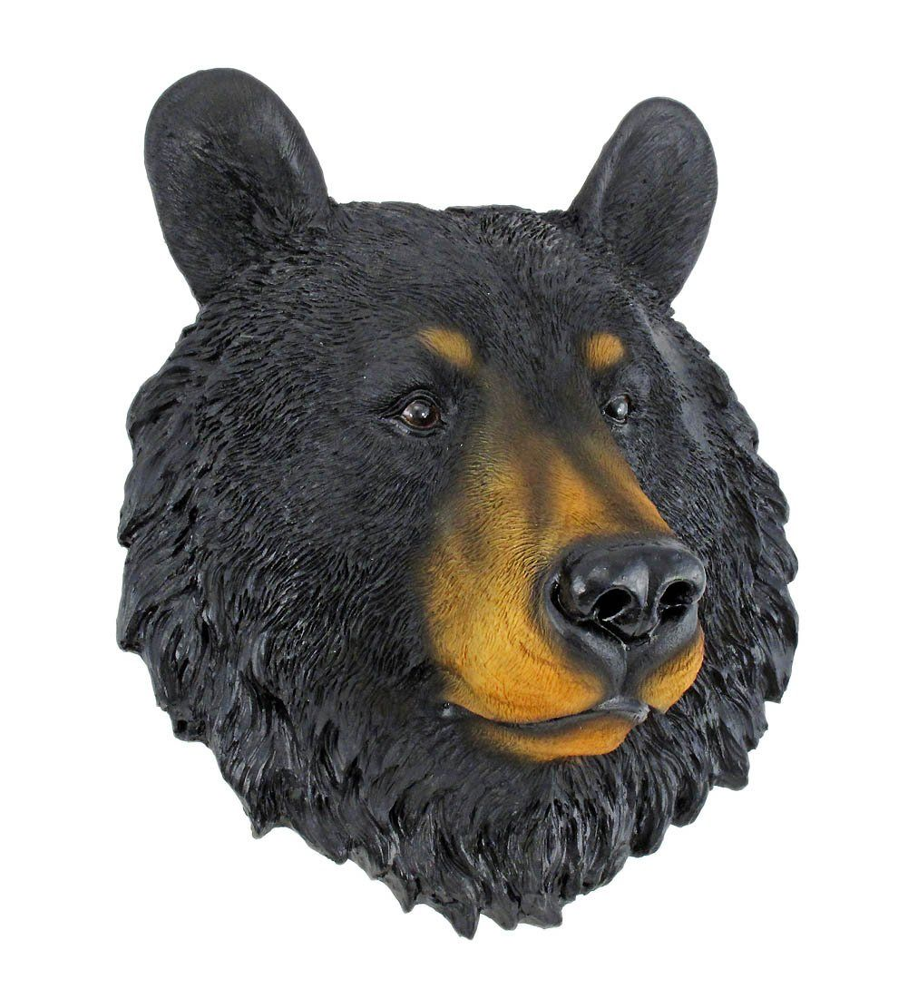 Black Bear Face Mini Bust Wall Hanging See This Great Product Note Amazon Affiliate Link Bear Statue Bear Face Paint Bear Face