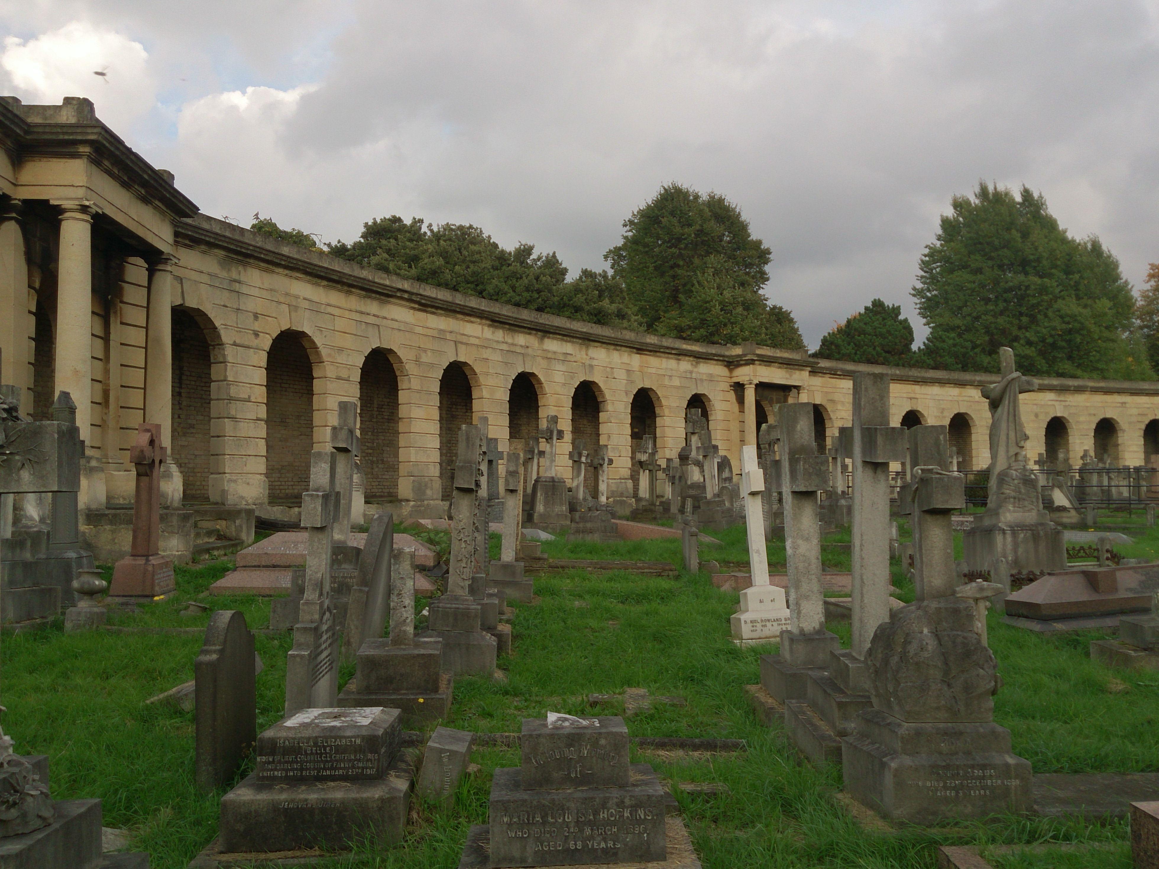 Brompton Cementery, London.