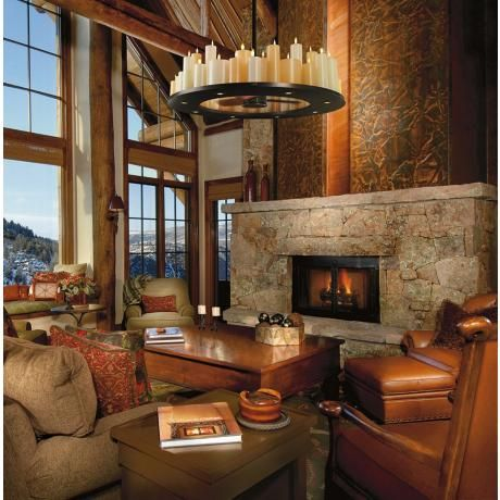 My Dream Lighing For The Great Room 30 Casablanca Candelier Ceiling Fan