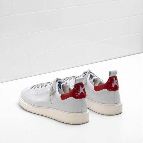 43c739d881cd GGDB Homme 2017   Golden Goose STARTER Sneakers Flag LTD Promo - Achat  Chaussure Golden Homme STARTER Pas Cher Chaussure Flag LTD GGDB G30MS631.E8