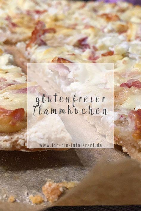 Rezept: glutenfreier Flammkuchen | Ich bin intolerant.