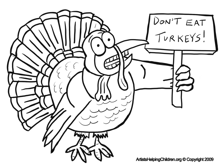 Worksheets For Kids Free Thanksgiving Day Coloring Book Printables