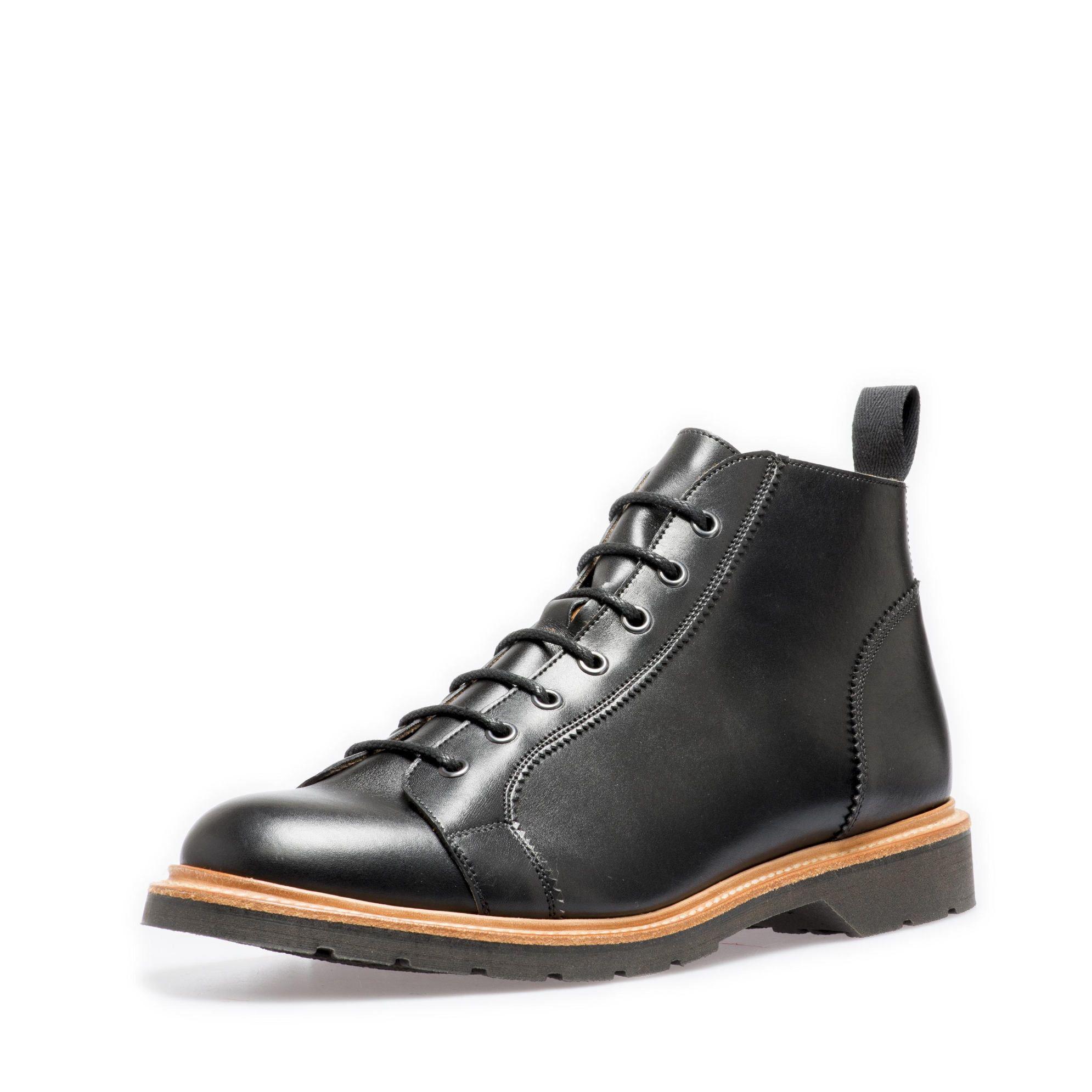 Solovair Black Monkey Boot Monkey boots, Boots, Solovair