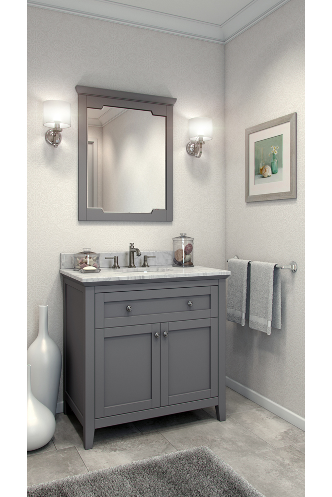 36 Chatham Shaker Vanity With Top And Bowl Van102 36 T