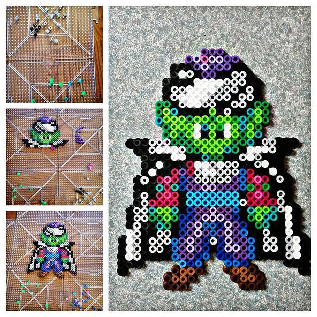 Piccolo Dragon Ball perler beads  by starsxsnake