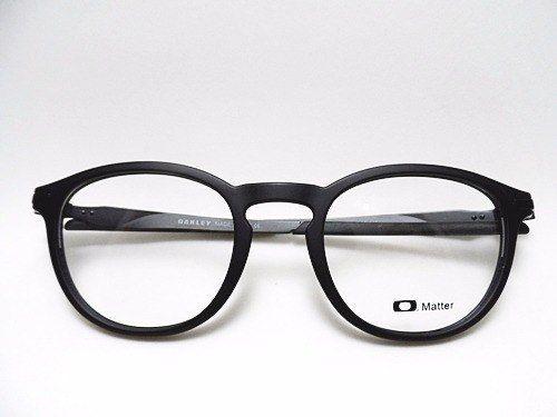Armacao Oculos P Grau Masculino Redondo Preto Moderno Com
